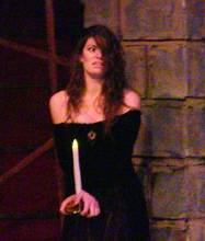 Lana Smithner as Lady Macbeth