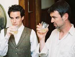 Bryan Breau as Edmund and Eric Damon Smith as Jamie
