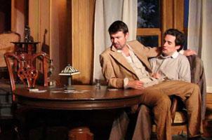 Bryan Breau as Edmund and Eric Damon Smith as Jamie