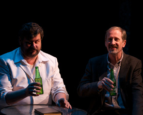 Kevin M. Grubb as Elliot and Richard Engling as Matthew