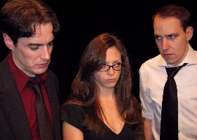 Bryan Breau as Jonathan, Leah Morrow as Molly and Scott Sawa as Henry